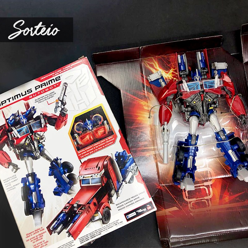 REGULAMENTO SORTEIO BONECO TRANSFORMERS OPTIMUS PRIME - INSTAGRAM