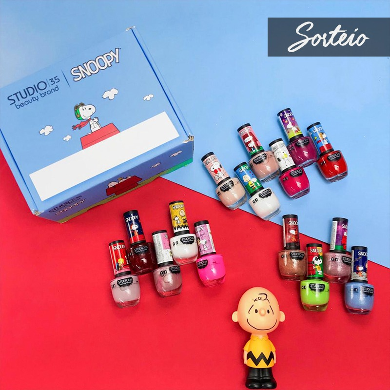 REGULAMENTO SORTEIO KIT ESMALTES STUDIO 35 SNOOPY - INSTAGRAM